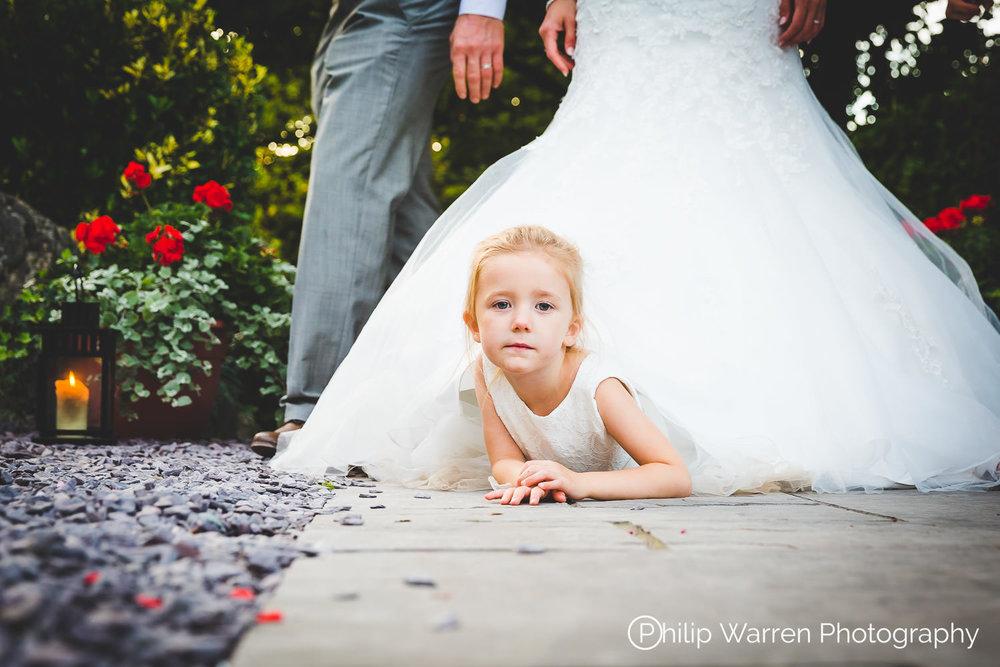 Flower Girl Gower Wedding