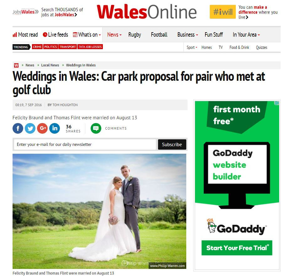 Philip Warren Photography on WalesOnline