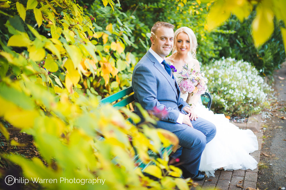 City Hall Cardiff Gardens Wedding