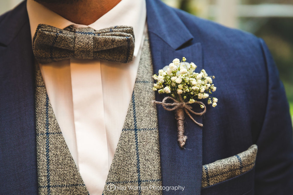 Grooms Bowtie and Suit