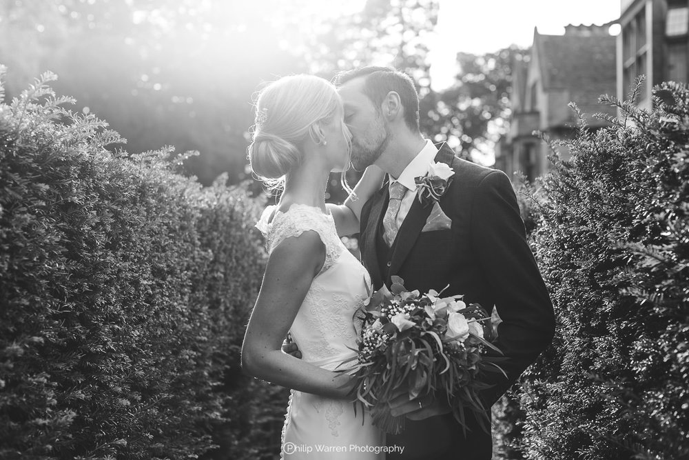 bride and groom at coombe lodge blagdon.jpg