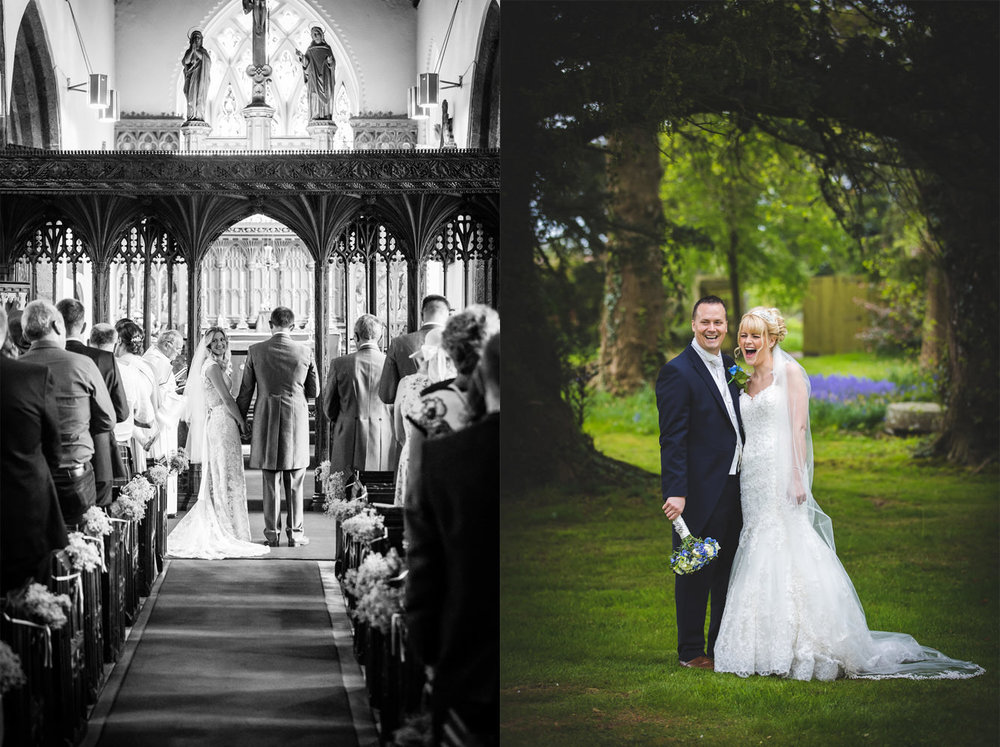 couple of images taken at weddings in 2017