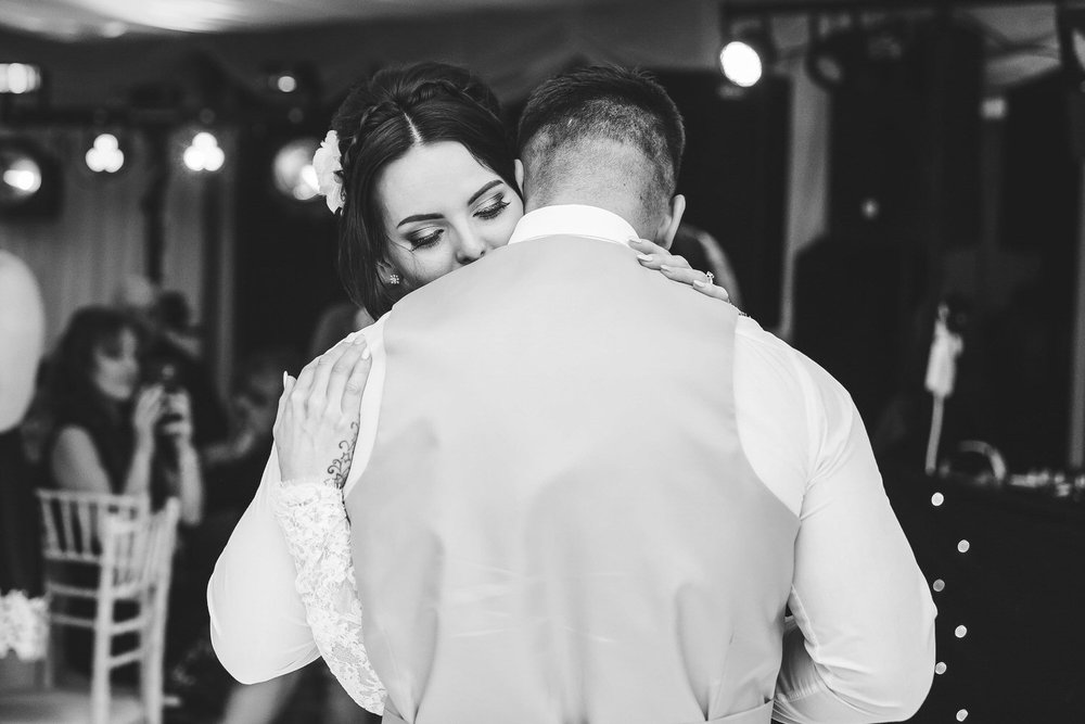 first dance embrace