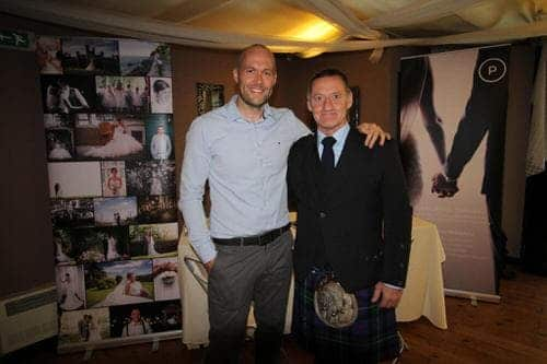 bagpiper john campbell with me