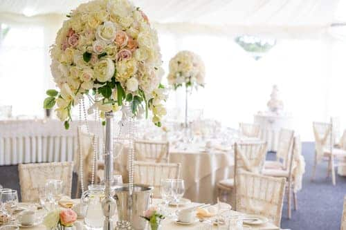 table centres at oldwalls by emma hall designs