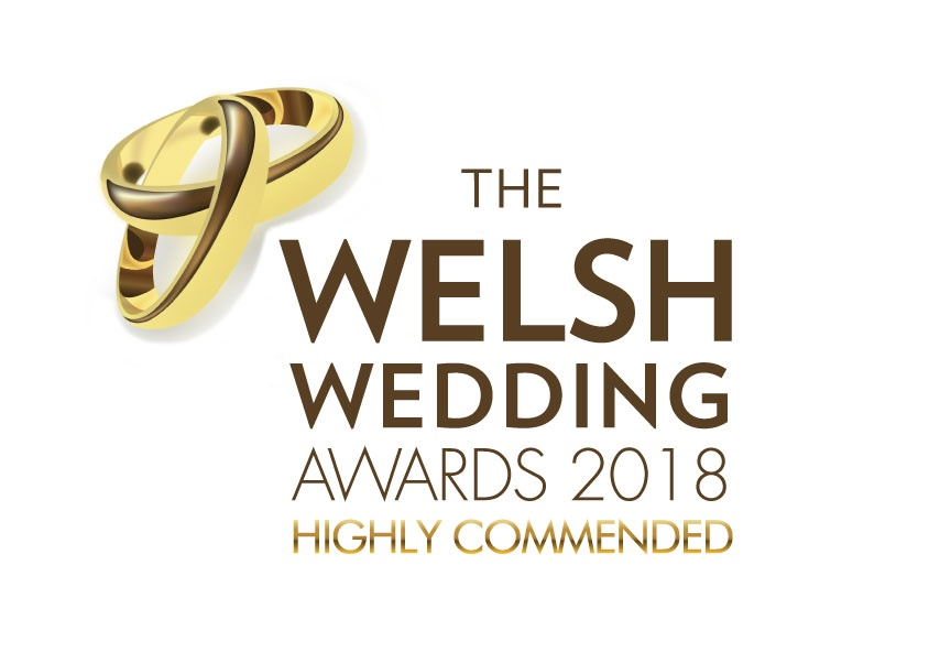 welsh wedding awards highly commended