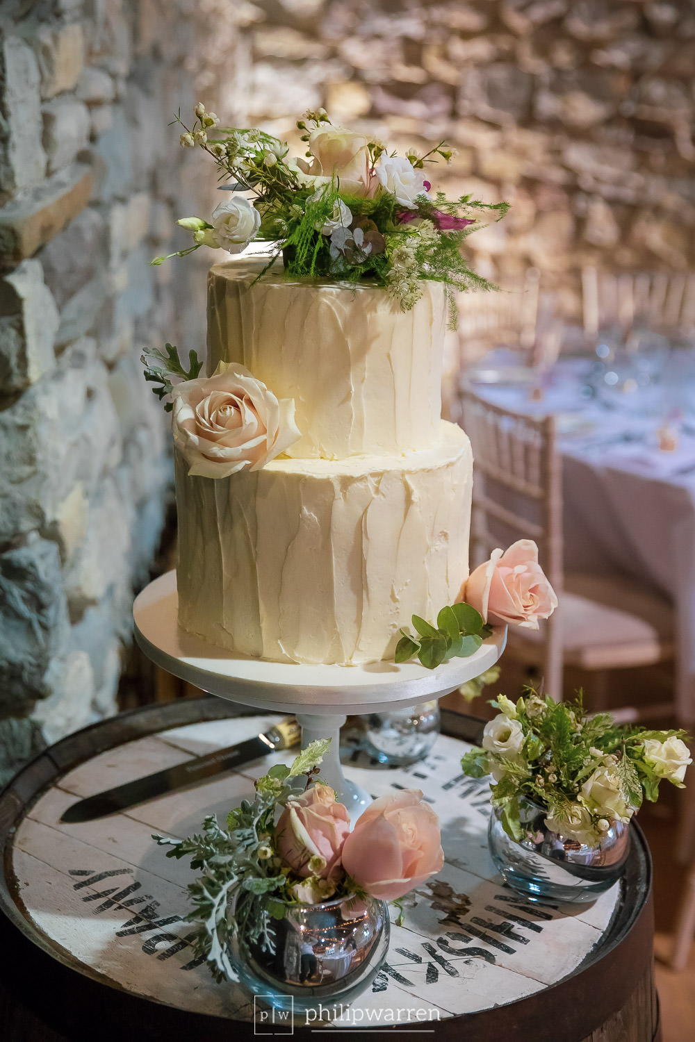 wedding cake by becky james