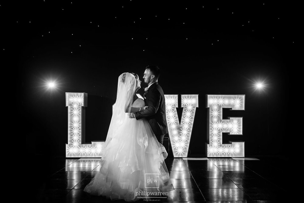 first dance at oldwalls with love letters