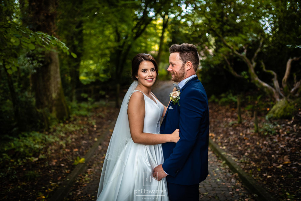wedding photos in bryngarw country park