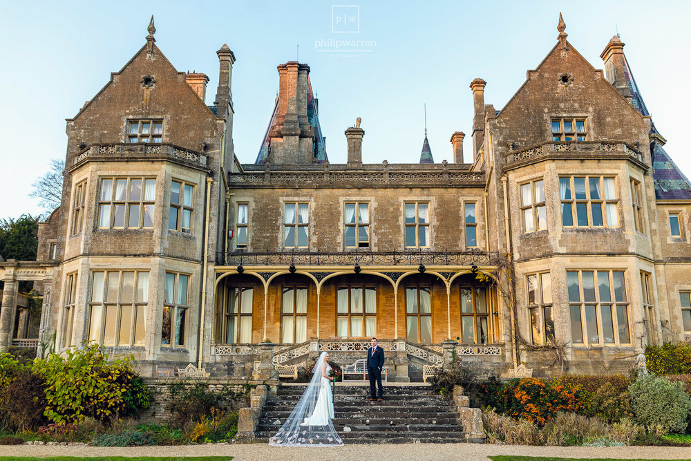 wedding photography at orchardleigh estate house