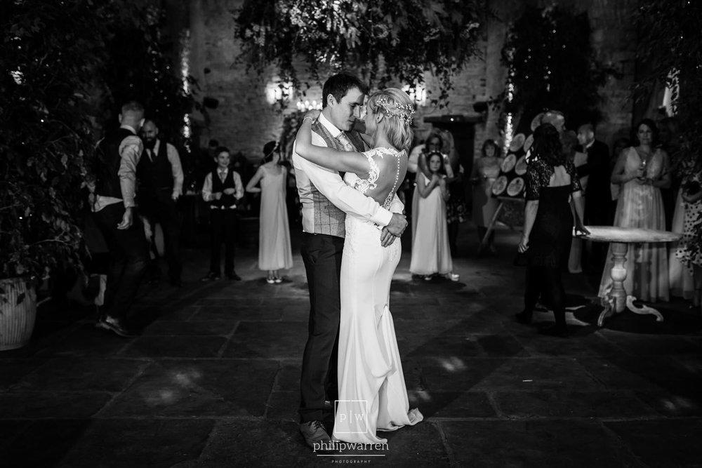 first dance at cripps barn wedding