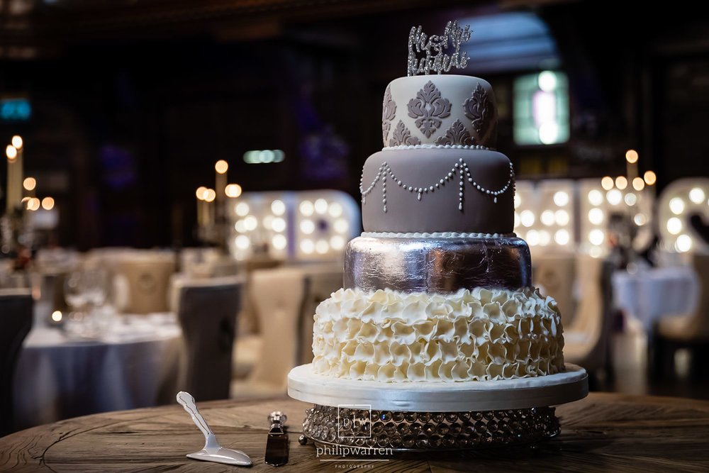 Wedding Cake by Bryn Awel Cakes