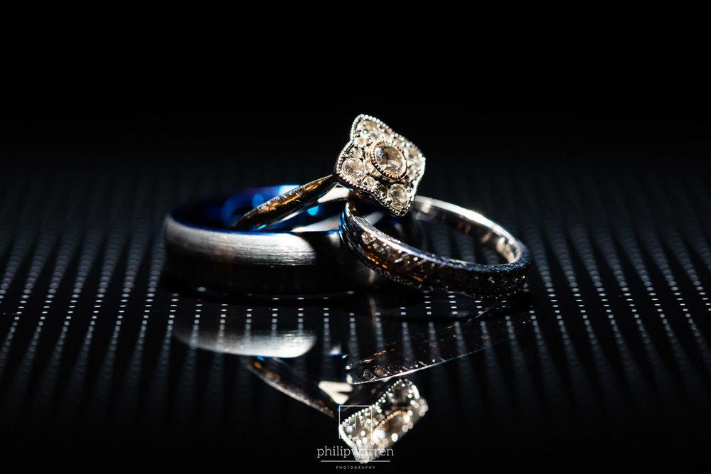 macro photo of wedding shoes