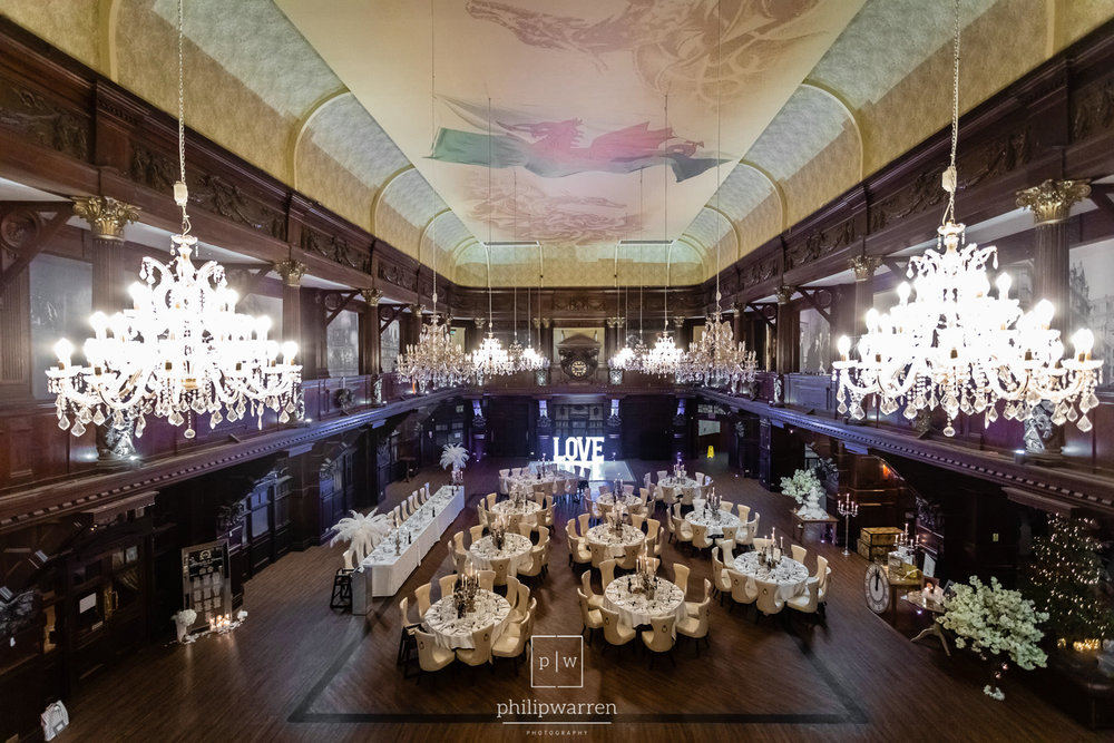 the main room at the exchange
