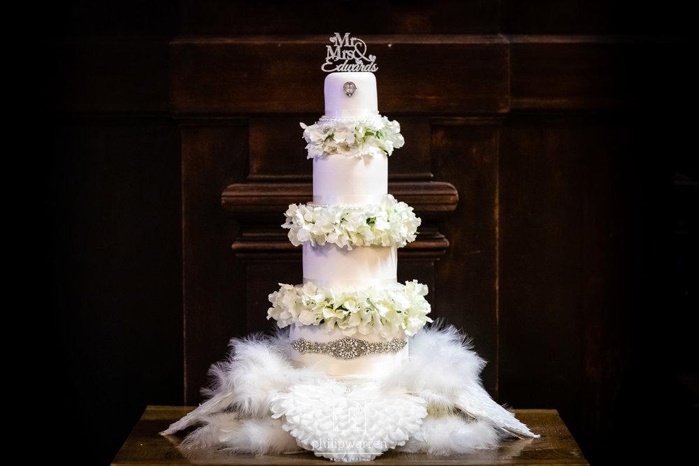 wedding cake at the exchange