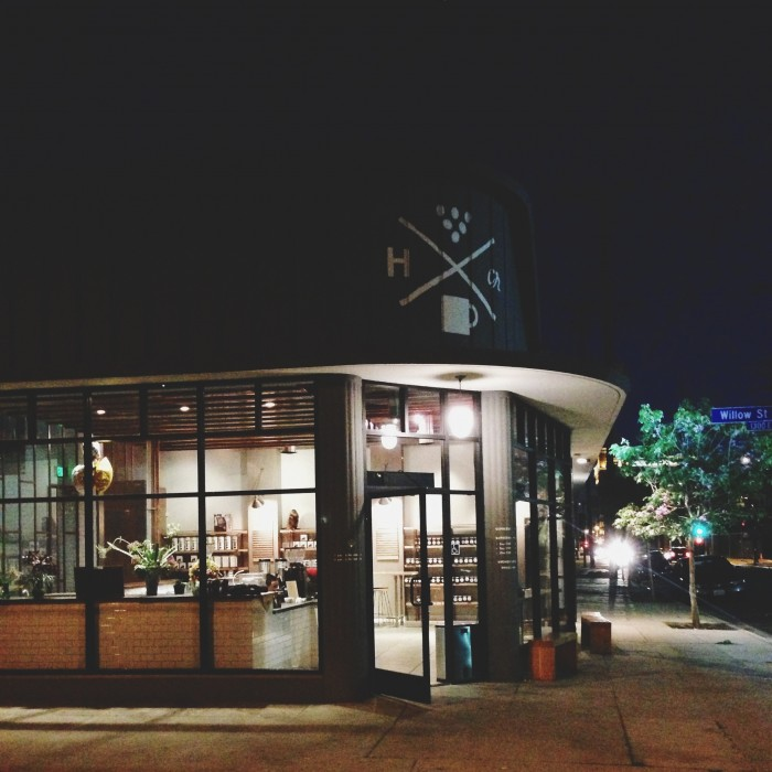 Handsome Coffee Roaster, one of the places that makes LA feel like home…
