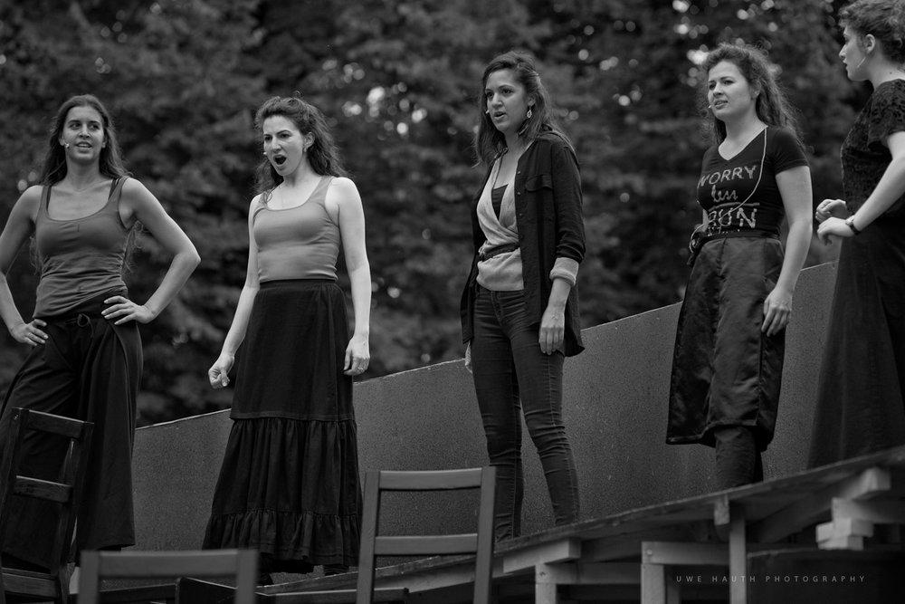Carmen Rehearsal, Kammeroper Schloss Rheinsberg