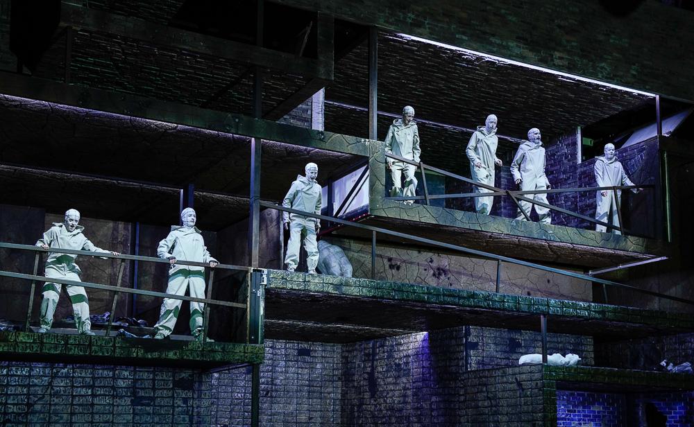 Septet in Babylon at Berlin Staatsoper