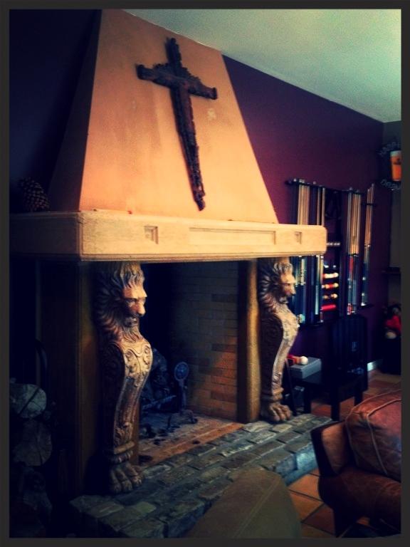 Custom fireplace -Glendale, CA