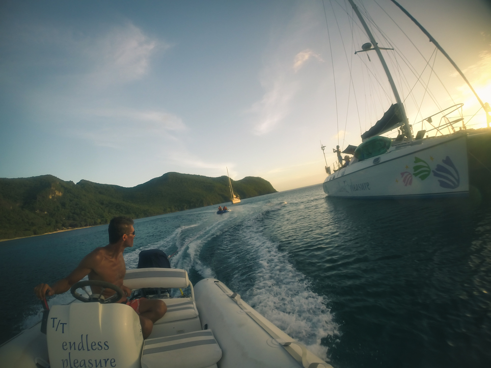 Can you stay on the tube?  Chatham Bay, Union Island, SVG