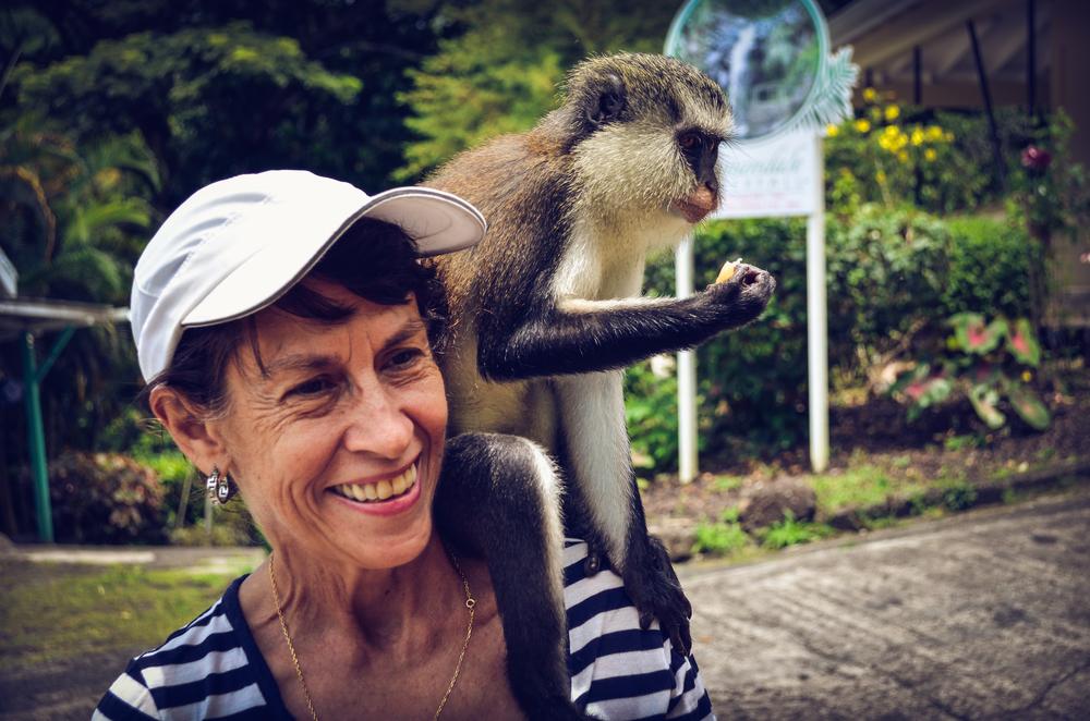 Sightseeing in Grenada.