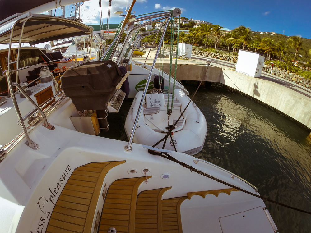 Transom and Dinghy