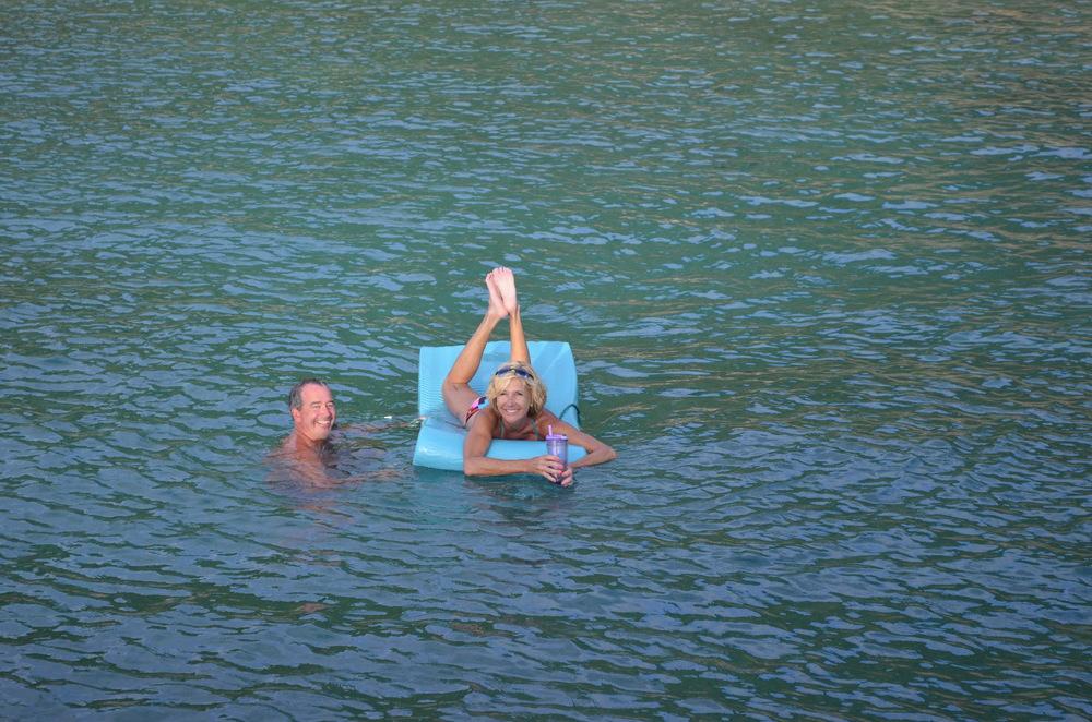 Refreshing float.