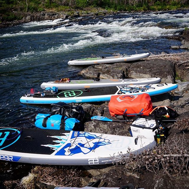 We have all of the @aegirsup adventure weapons! . . . #teamægir #shopyk #oldtownpaddle