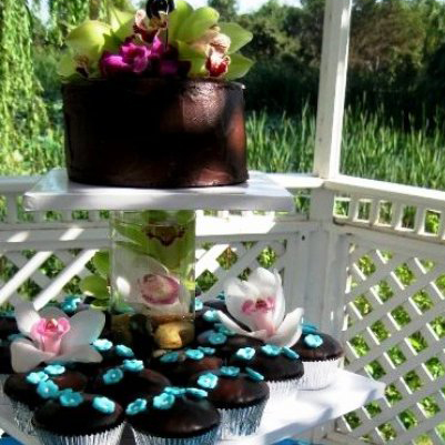 irish carbomb wedding cupcakes