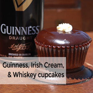Irish Carbomb Cupcake