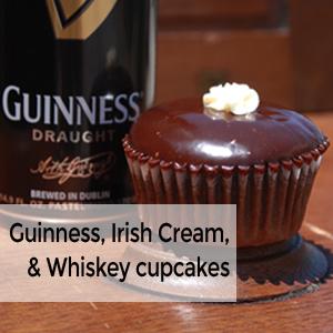 Irish Carbomb Cupcake