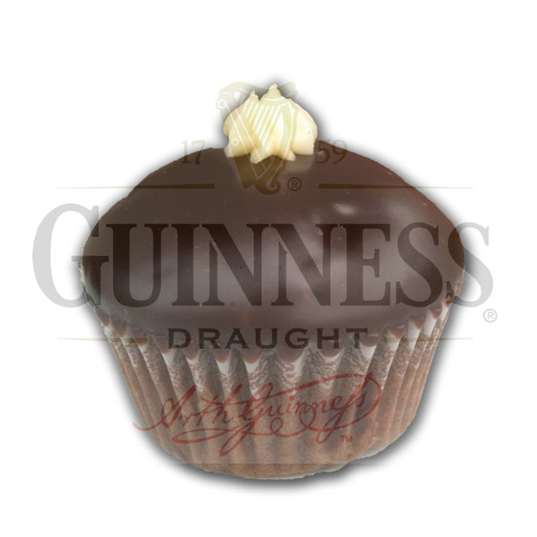 Irish Carbomb Guinness® chocolate cake, Irish cream frosting, & whiskey ganache