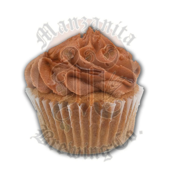 ManzaNeed It Manzanita® Gillespie Brown Ale, black pepper, & Nutella® buttercream