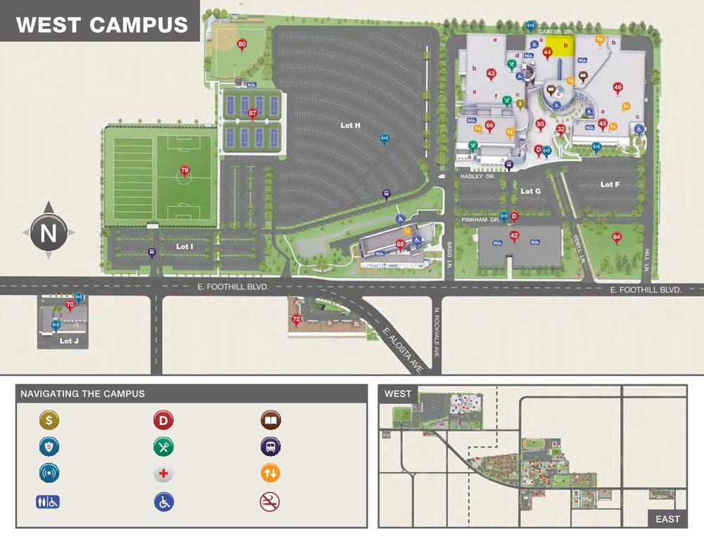 Apu Campus Map W Darling Highlight Parking Info Hfsi