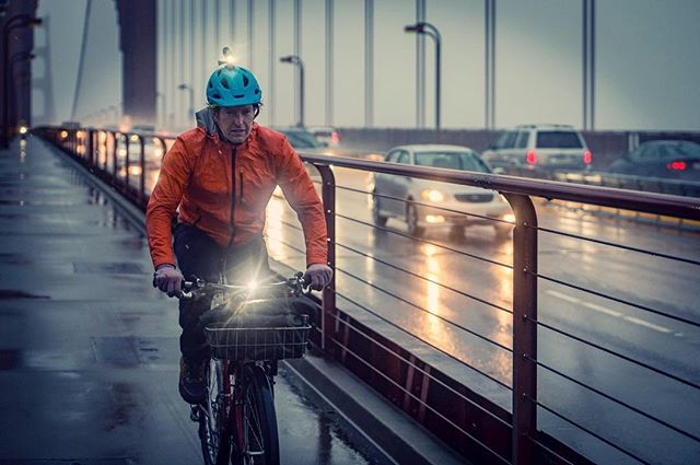 Celebrating some much needed rain w/ @the.scorps . . . #rain #commute #bikecommute #ride #wet #bridge #goldengatebridge #sanfrancisco #rainride #bikelife #bike