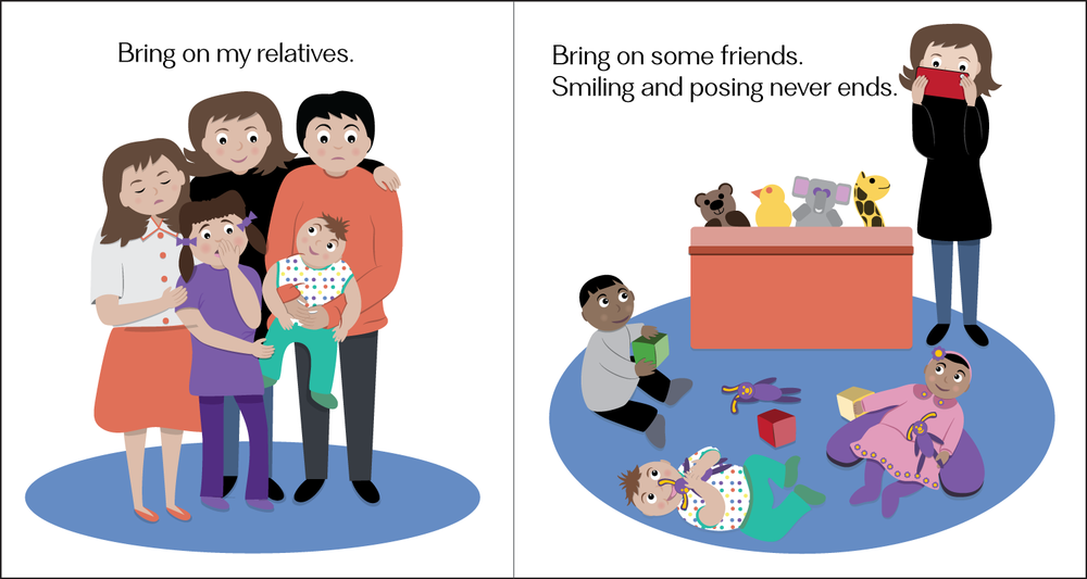 Pages from #BabyLove: My Social Life.
