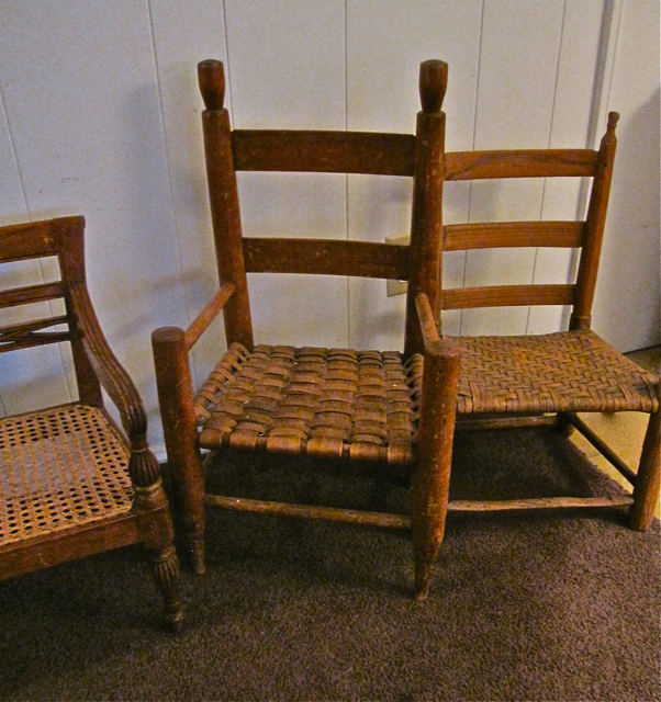 Shaker children's chairs