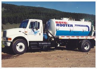 Roto-Rooter is one of many U.S. companies that pump out septic tanks.