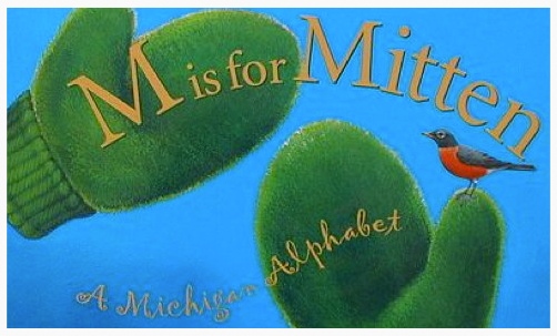 This book for children helps them learn their alphabet and interesting things about Michigan. It's a great souvenir because it packs flat in your suitcase!