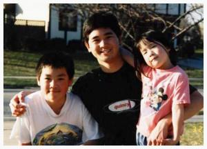 Chen siblings: Chris, Francis, Joanna