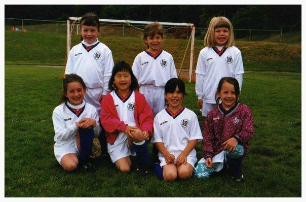 Joanna Chen's youth soccer team, White Thunder