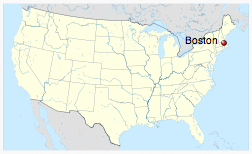 Boston, Massachusetts (source: Wikipedia)