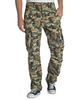camouflage pants (for sale at macys.com)