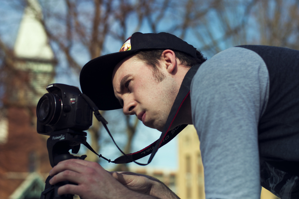 Taylor Bouwens was a Production Assistant Intern at Feel Like You Belong during the Winter 2016 semester at Grand Valley State University. He is a senior in the Film and Video program and getting his bachelor's degree this April. He is goal is to become a cinematographer and is currently strengthening his skills in lighting. Besides film, he has a penchant for comic books and playing guitar.