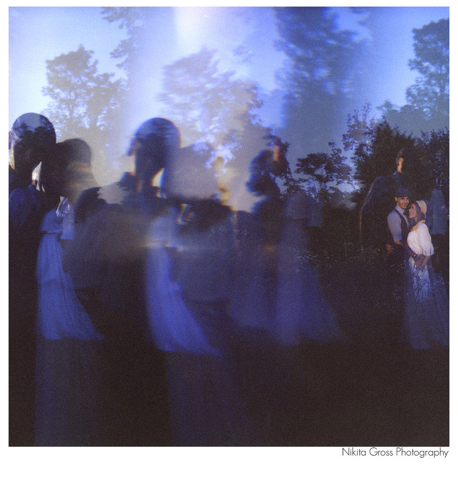 Holga wedding