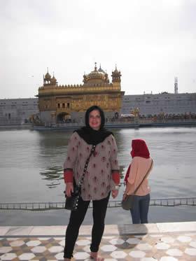 Pam in India!
