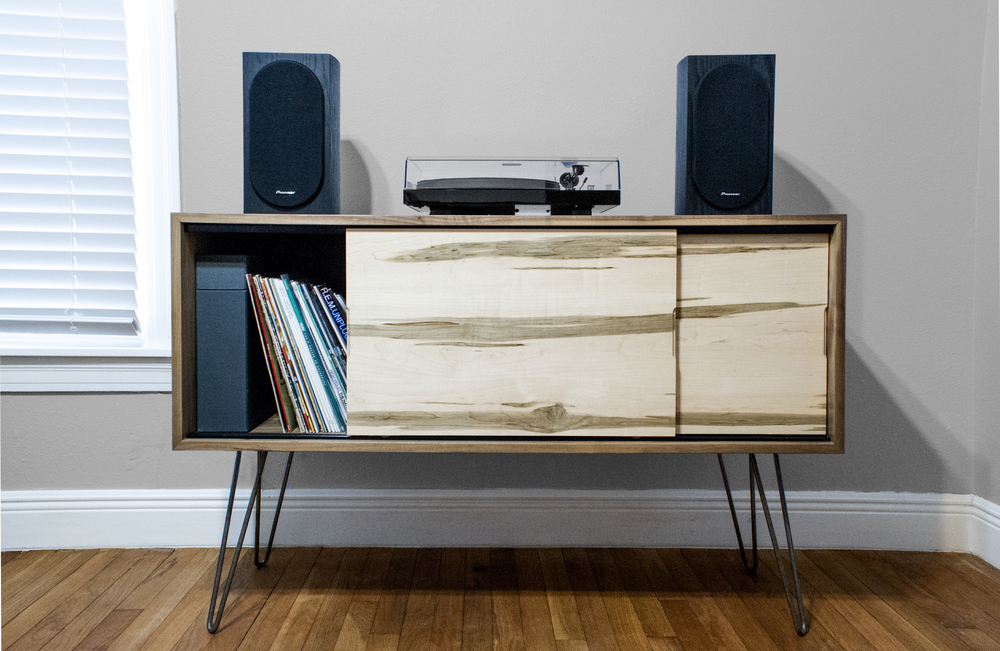 cabinet handmade stand the table slim products coffee of fruniture copy orleans mid custom new record modern from century tv
