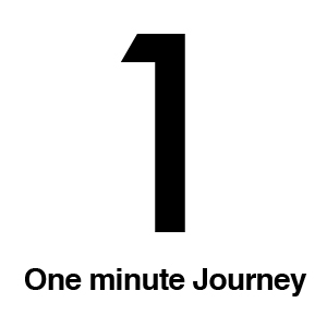 One minute Journey