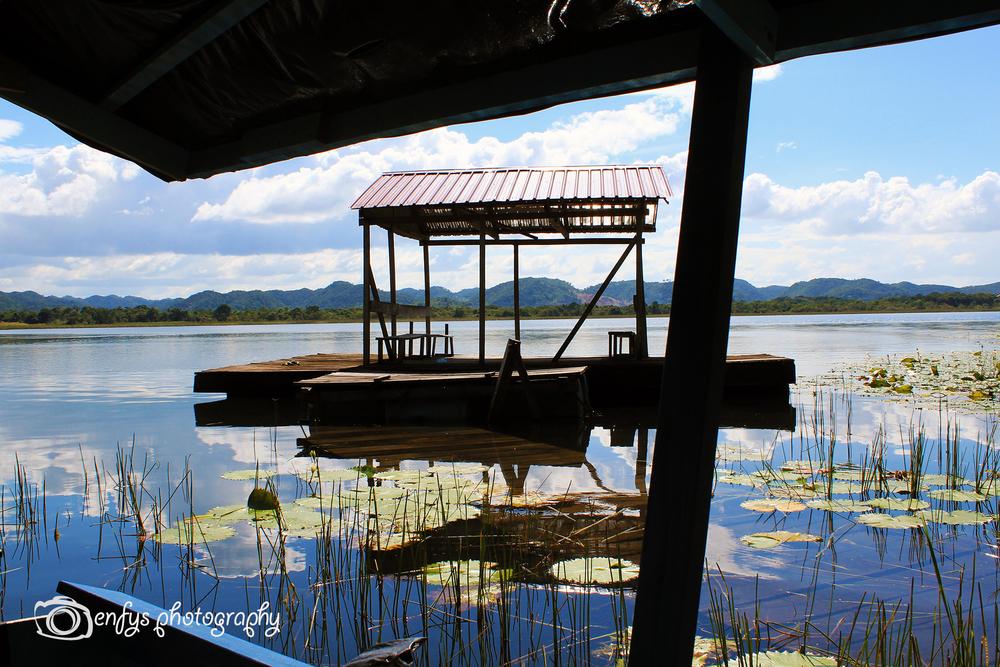 ARCAS dock -Lake Peten Itza