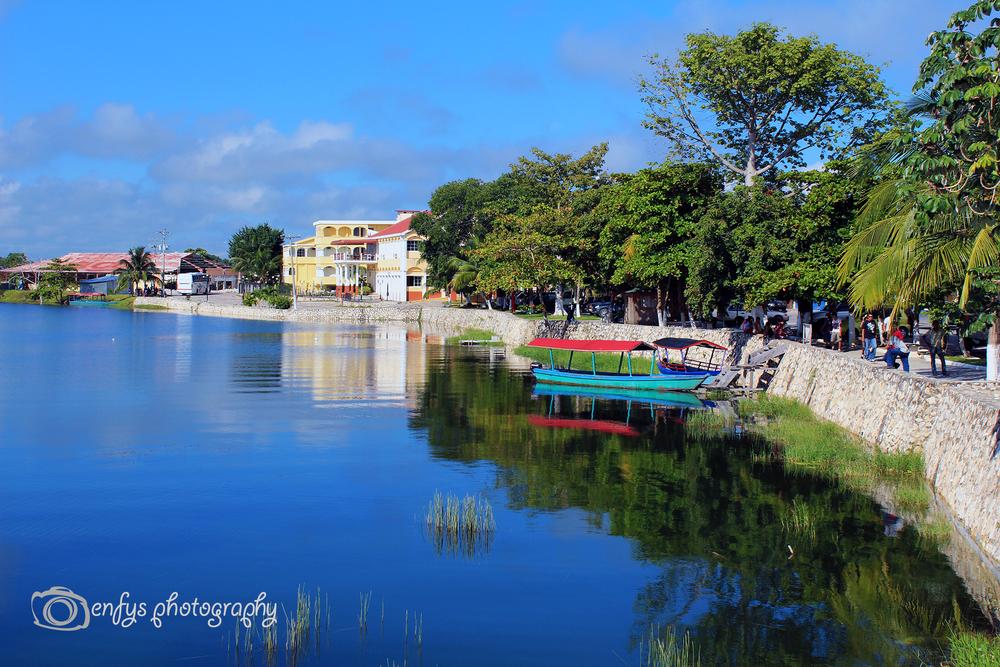 Lake Peten Itza -Flores, Guatemala